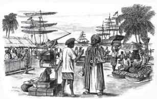 Masyarakat Indonesia mengenal Islam dari pedagang Timur Tengah dan India
