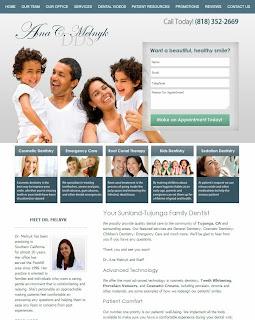 stfamilydentist website design by Solution21