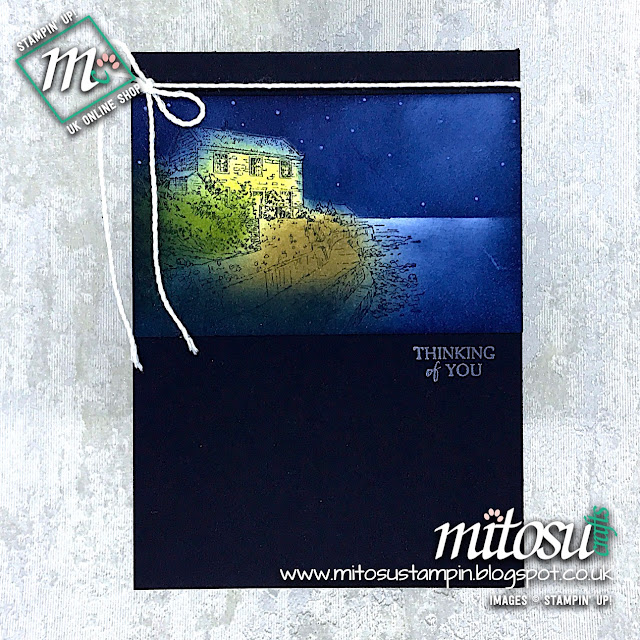 By The Bay Sale-A-Bration 2019 Stamp Set by Stampin' Up! Card Idea from Mitosu Crafts