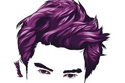 [Full] Cara membuat vector di Infinite Design bagian rambut dan mata pria