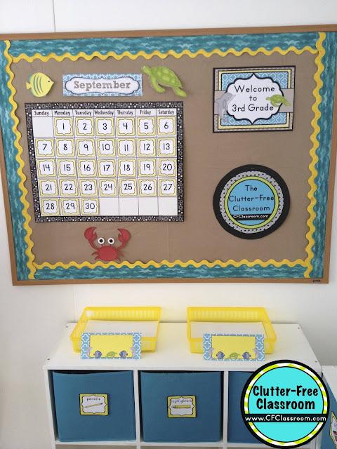 Beach Themed Classroom - Ideas & Printable Classroom ...
