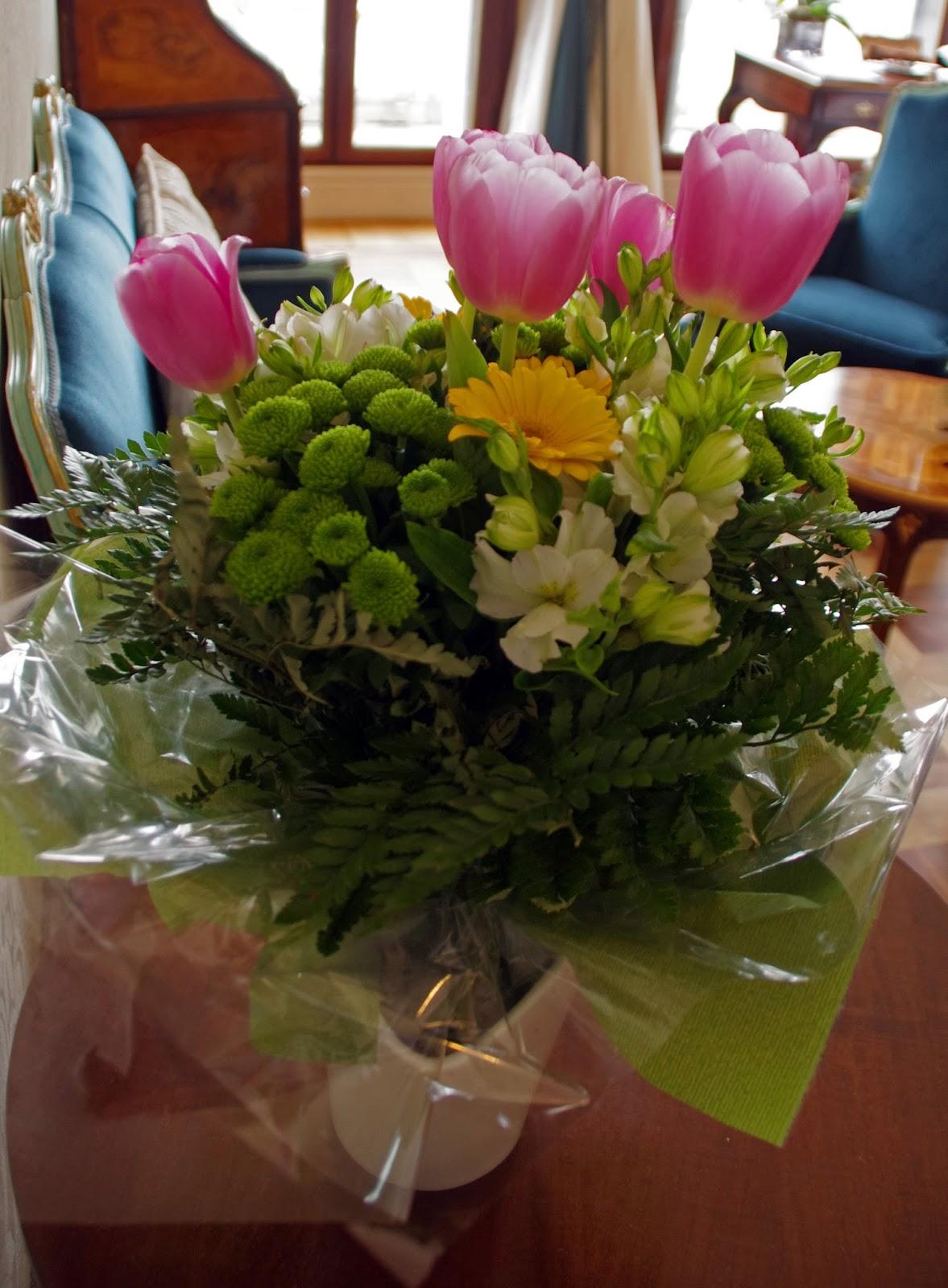 Westin Europa & Regina Venice fresh flowers