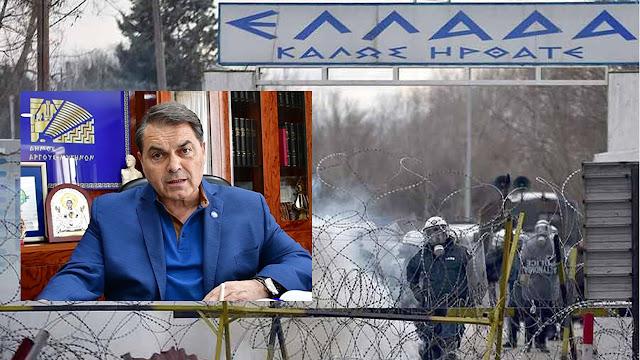 Ο Καμπόσος πάει στον Έβρο με βοήθεια για τους αστυνομικούς και τους στρατιώτες