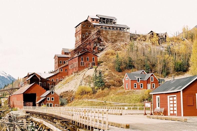 La abandonada ciudad minera de Kennicott | en Alaska