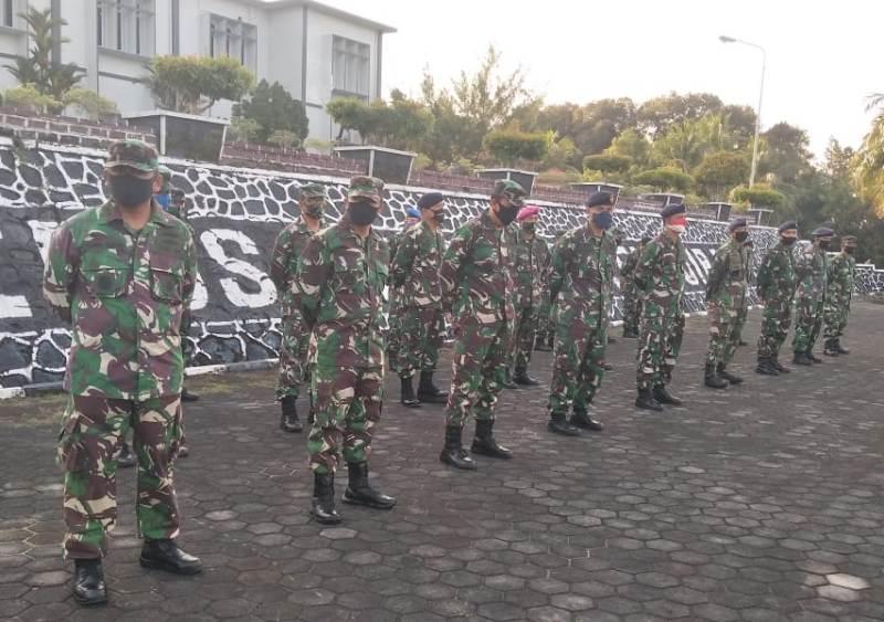 Aspers Danlantamal IV Beri Pengarahan Kepada Segenap Prajurit dan PNS Lantamal IV