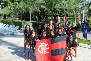 CR Flamengo Campeão Brasileiro Infantil Feminino de Polo Aquático de 2013