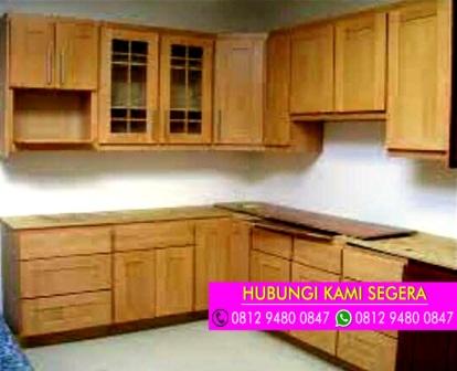 Jasa Kitchen Set Jati Belanda Cilebut Bogor 0812 9480 0847
