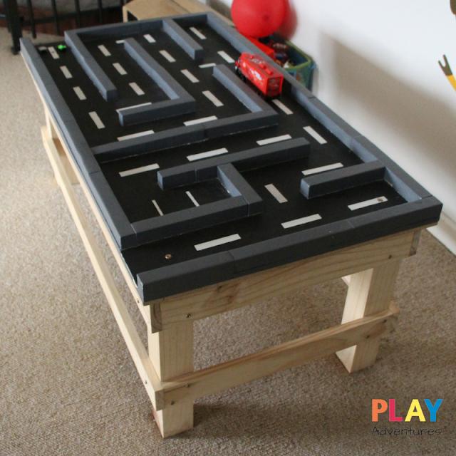 DIY Car Maze Table