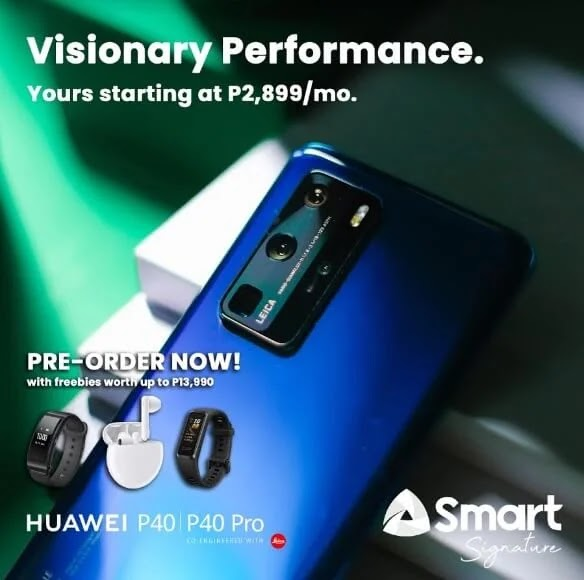 Huawei P40 Pro Now Available at Smart; Yours at Php2,899/mo with a Php9,300 Cashout