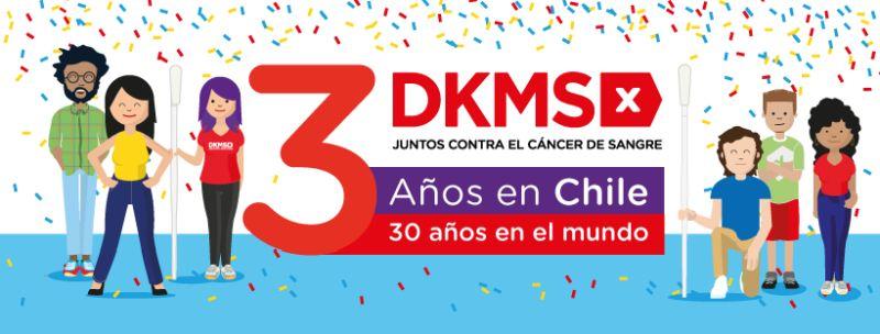 Fundación DKMS Chile hace llamado para sumar 3 mil nuevos potenciales donantes