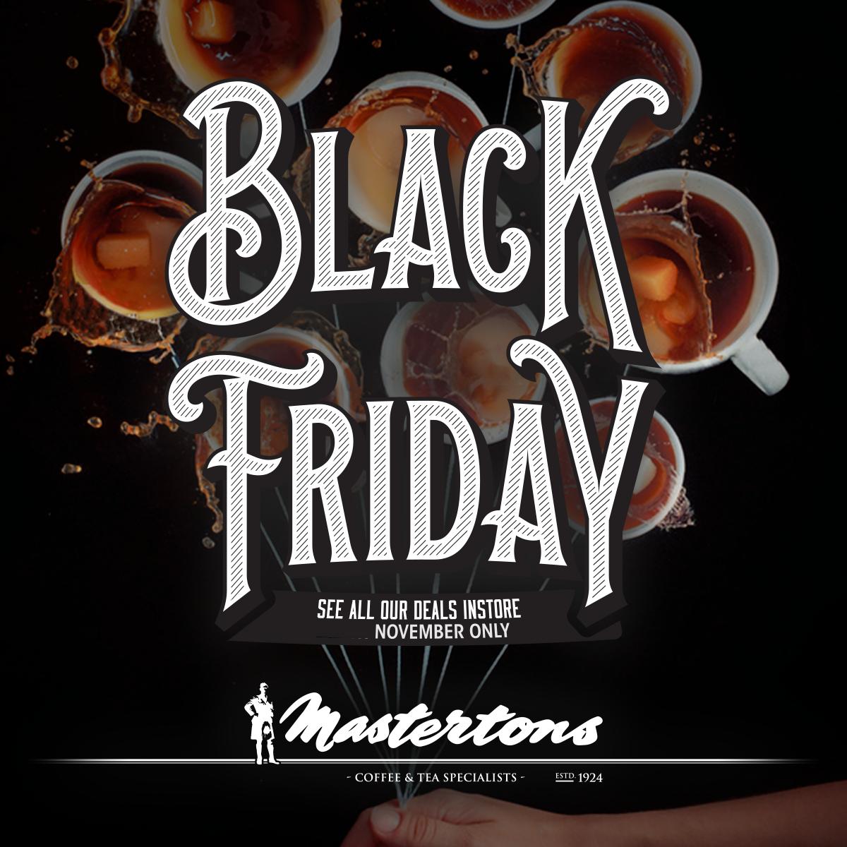 Mastertons Coffee – Black Friday