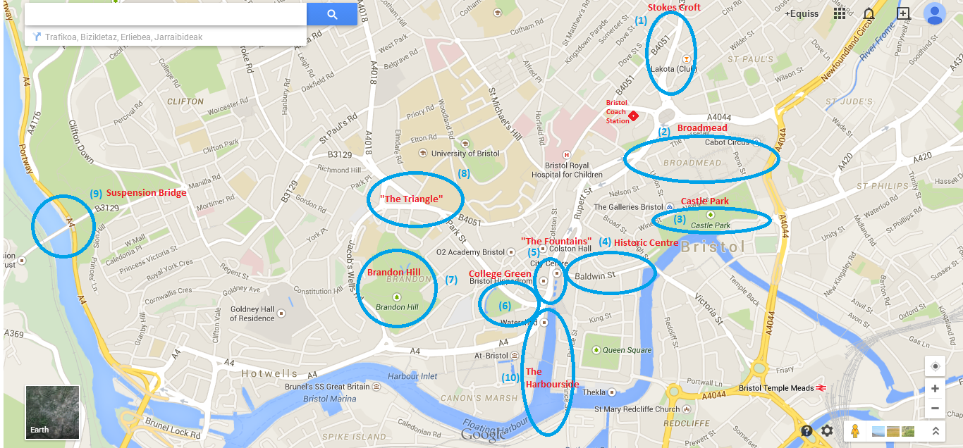 map shops bristol