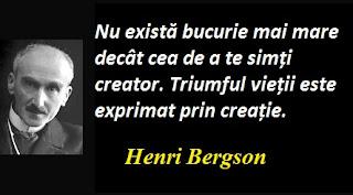 Maxima zilei: 18 octombrie - Henri Bergson