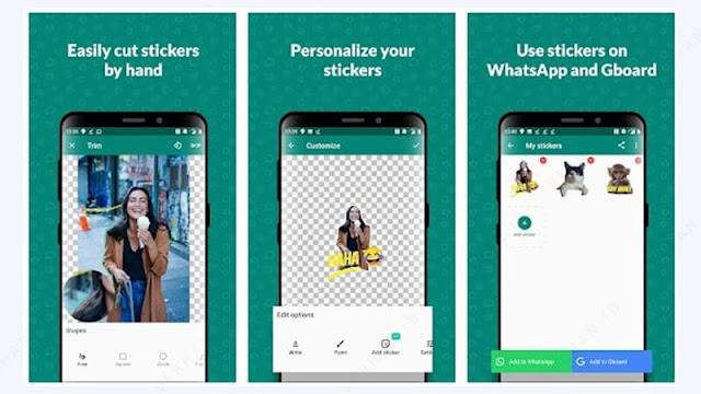 sticker studio untuk android