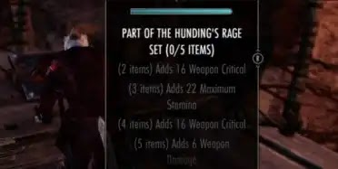 Best PVE Stamina Crafted Set - Hunding's Rage