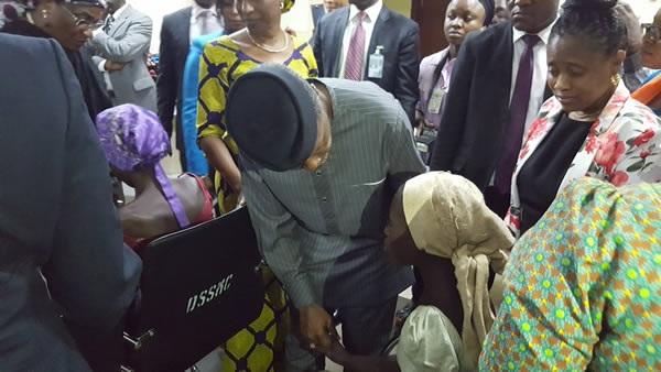 Tinubu: Buhari won't rest until all Chibok girls are set free