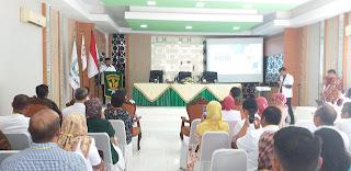 Wawako Jambi Secara Resmi Membuka Konferensi Cabang Persatuan Dokter Umum Indonesia Provinsi Jambi Ke-2 Periode 2020-2023.