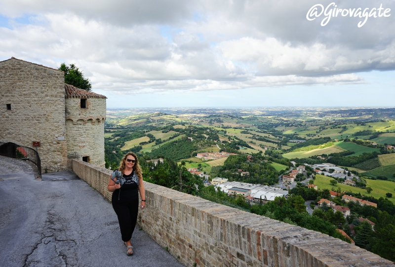 Arcevia Porta Santa Lucia Marche