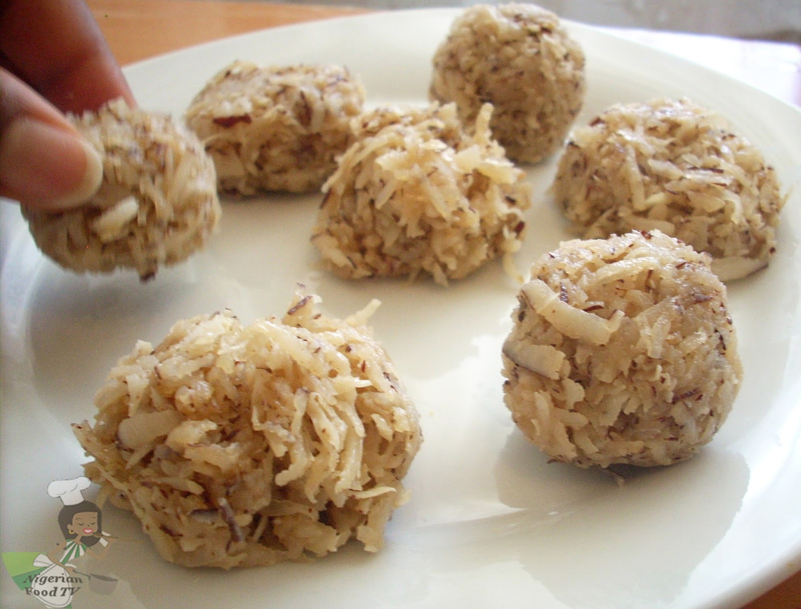 Nigerian Coconut Candy, how to make Nigerian Coconut Candy, Coconut candy, chancacas