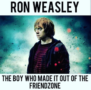 Harry Potter, Friendzone Meme