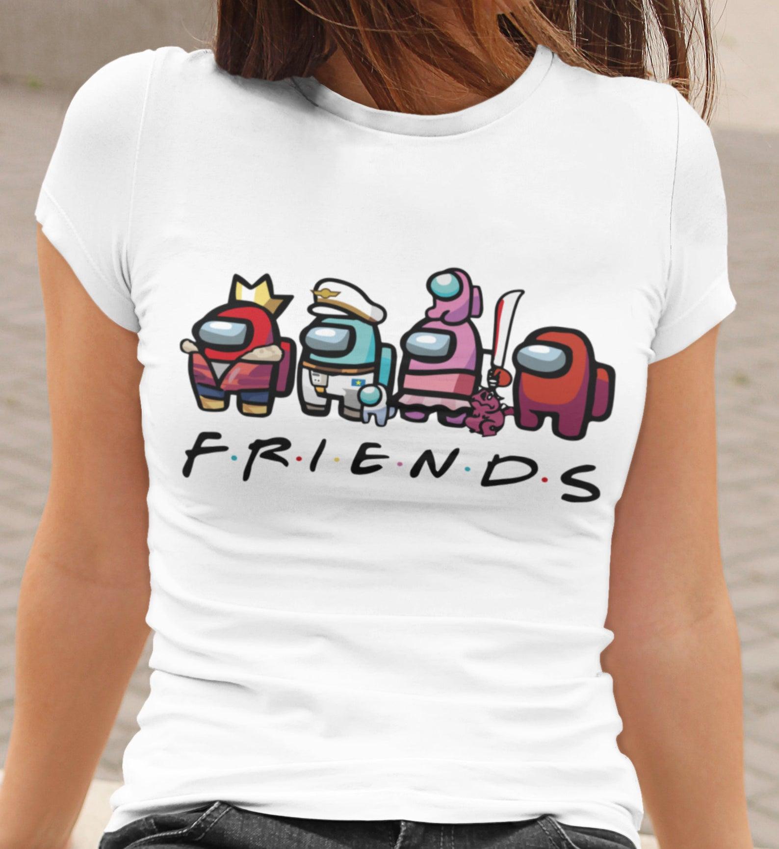 Among Us T-shirt Friends Shirt Suspect Shirt Mug Sus Tee.jpg