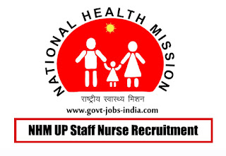 NHM UP Staff Nurse Recruitment 2020