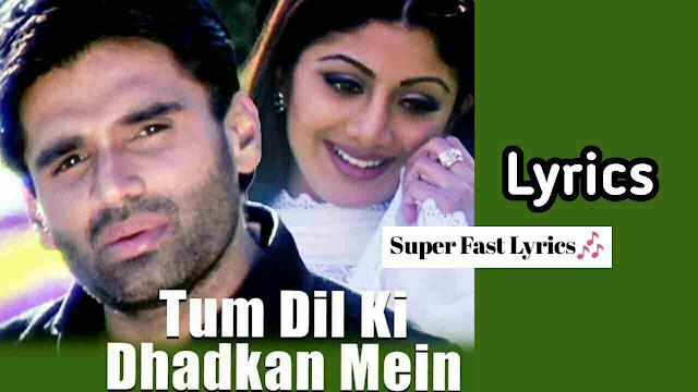 Tum Dil Ki Dhadkan Mein Lyrics in hindi - Dhadkan