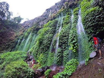 Tujuh Air Terjun Sumber Pitu Malang