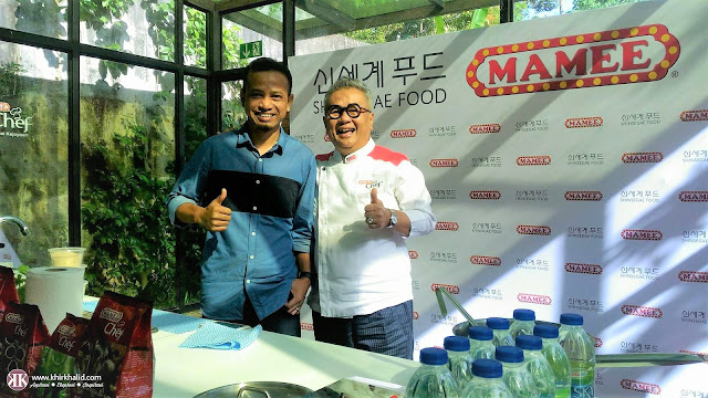 Dato' Chef Ismail Ahmad, Khir Khalid, Shinsegae Mamee Foodservice,