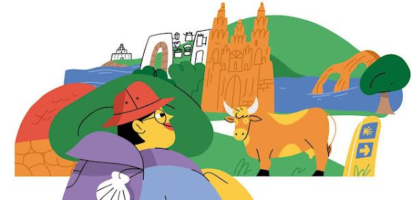 Viaje pelos Caminhos de Santiago através do Google Arts & Culture