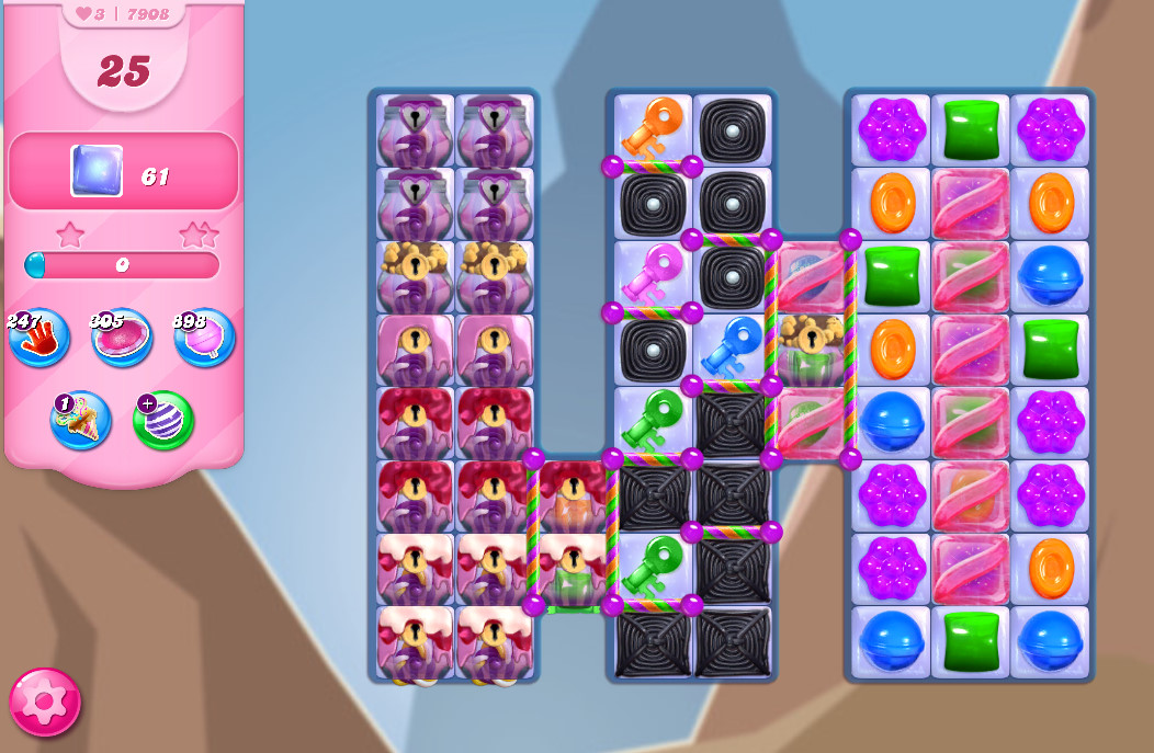 Candy Crush Saga level 7908