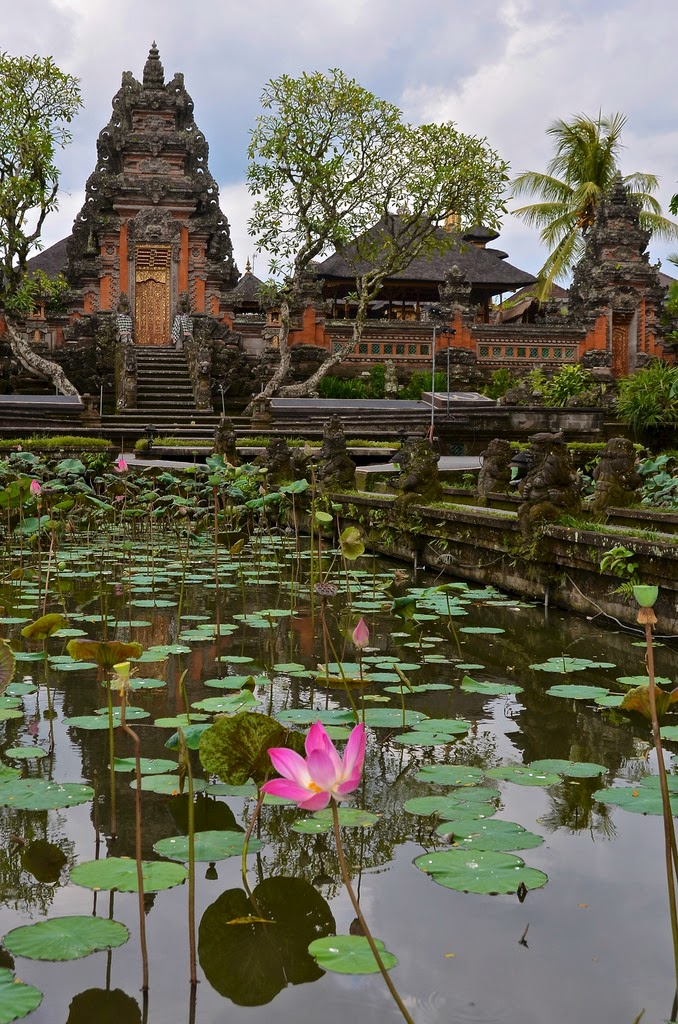 10 Places You Shouldn't Miss in Indonesia | Pura Saraswati Temple in Ubud