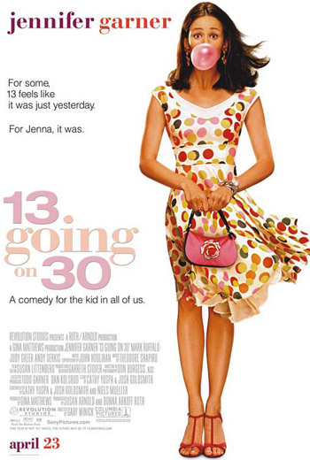 13 Going On 30 (2004) Dual Audio Hindi BRRip With ESub 480p_300MB Download/Watch Online