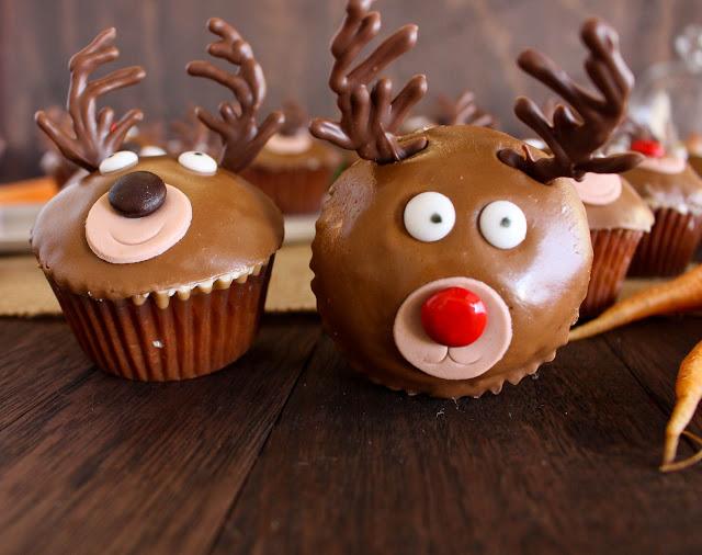 Reindeer Cupcakes Cassie Cakes