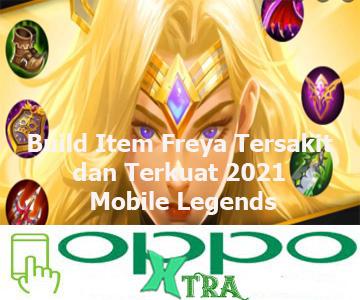 Build Item Freya Tersakit dan Terkuat 2021 Mobile Legends