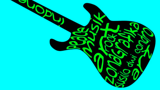 Cara Membuat Tulisan Mengikuti Bentuk Gitar dengan Corel Draw X7