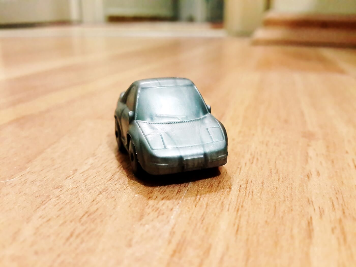 Gray Toy Car, Macro, Mini