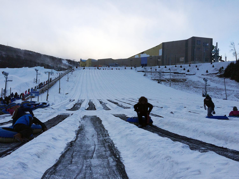 Camelback Mountain Resort, snowtubing
