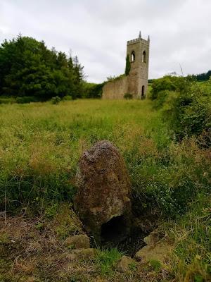 Killamery High Cross, Saint Nicholas Well