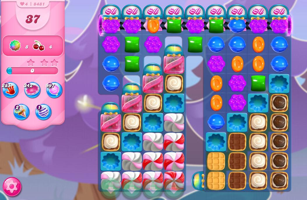 Candy Crush Saga level 8481