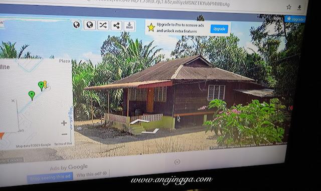 cara melihat kampung dengan Google Street View