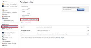 Cara Menambah Nomor Handphone Baru Ke Akun Facebook
