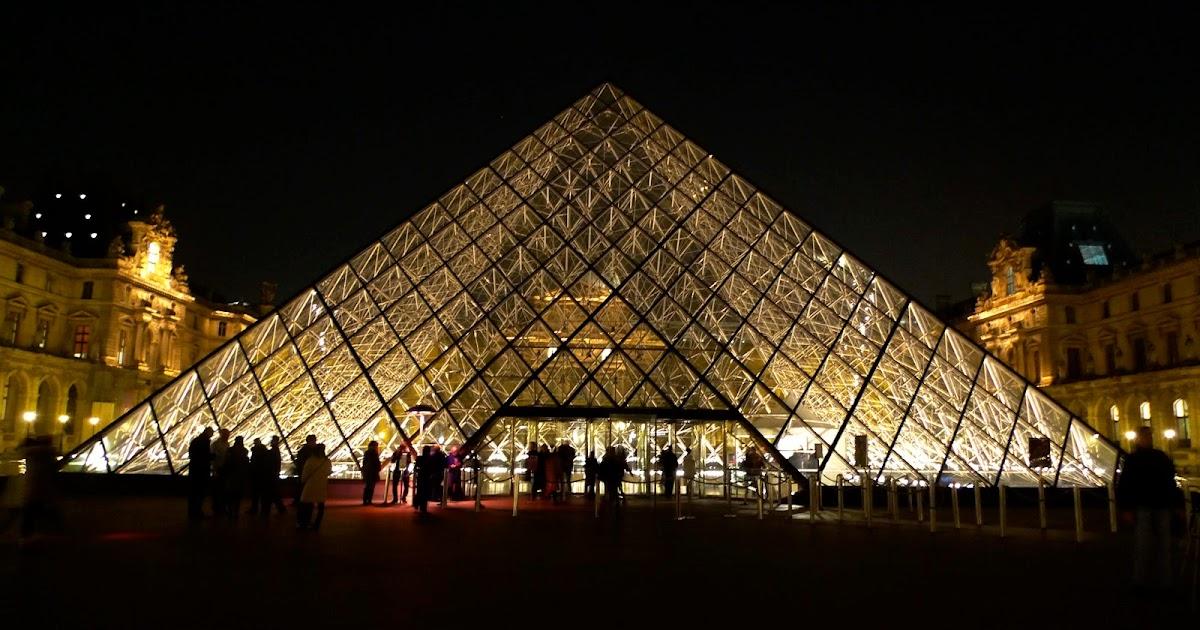 ♥~巴黎羊旅行筆記~♥: 達文西密碼場景-夜訪巴黎羅浮宮(Musée du Louvre)