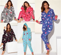 Fleece Onesies By Adore