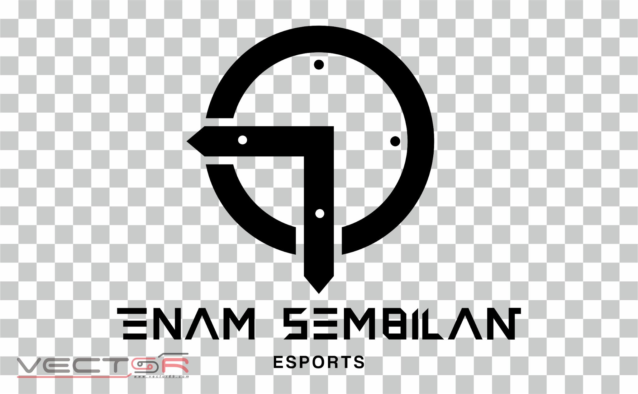 Enam Sembilan Esports Logo - Download Vector File PNG (Portable Network Graphics)