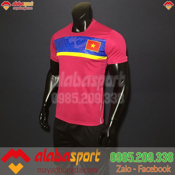 Áo đội tuyển Việt Nam Training 2019 màu hồng