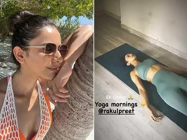 Rakul Preet Singh has the Perfect Start to her Week