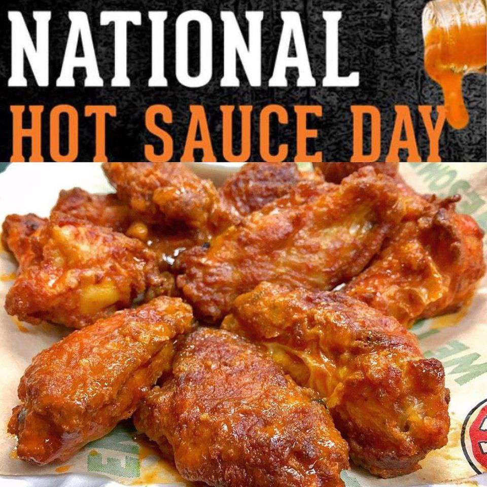 National Hot Sauce Day Wishes Beautiful Image
