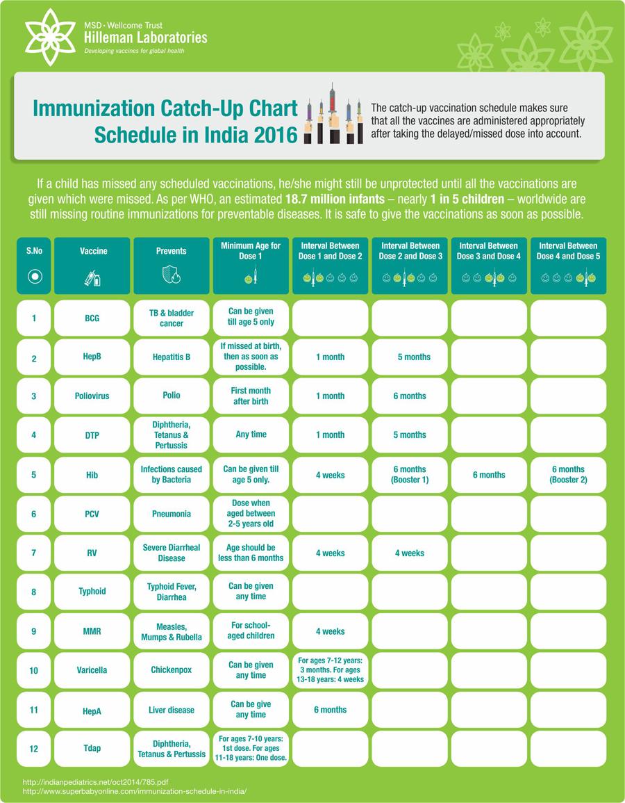 Immunization catch up chart schedule in india also hilleman laboratories rh hillemanlaboratoriesspot