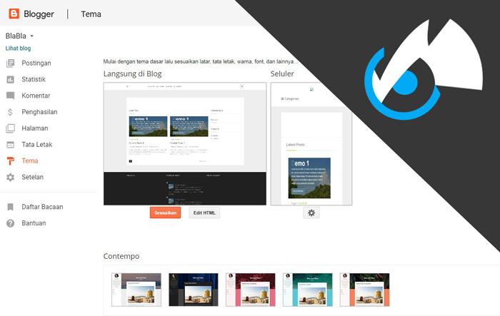 webxcode - Tutorial Blogger Lengkap Dengan Mengembalikan Basik Template